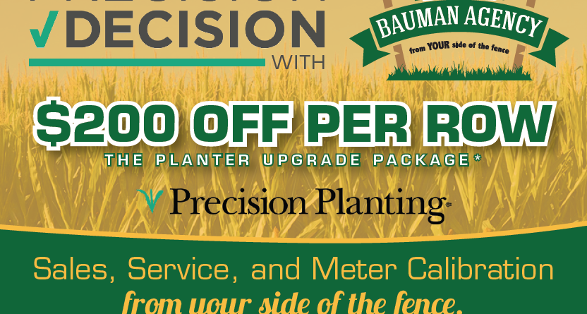 Summer Special: Precision Planting Upgrade Package
